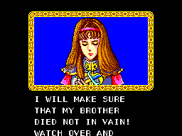 "Saying ""I will make sure that my brother died not in vain!"""